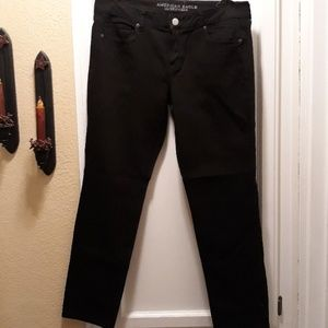 nwot American eagle outfitters black jeans 14
